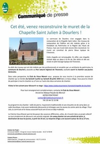 Chantier Chapelle Saint-Julien