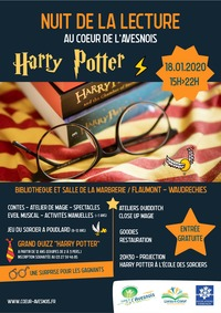 Nuit de la lecture Harry Potter